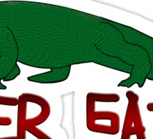 Later Gator Sticker