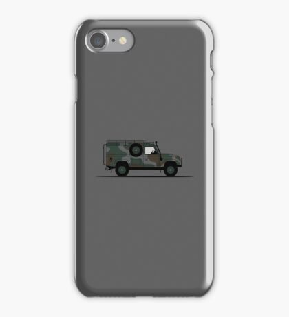 A Graphical Interpretation of the Defender 110 XD Wolf Hard Top iPhone Case/Skin