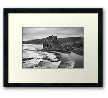 Lion Rock   Framed Print