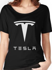 tesla the electric Women's Relaxed Fit T-Shirt
