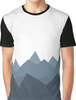 Foreign Mountains Graphic T-Shirt