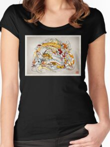 Koi Evolved Women's Fitted Scoop T-Shirt