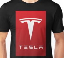 tesla the electric Unisex T-Shirt