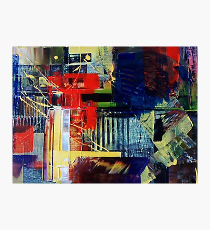abstract conceptual painting2 Photographic Print