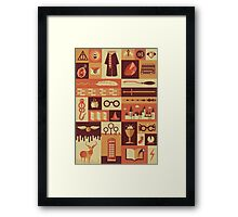 Accio Items Framed Print
