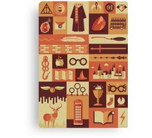 Accio Items Canvas Print