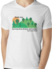 My Favorite Murder - Chop Down All the Woods Mens V-Neck T-Shirt