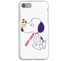Snoopy lovely iPhone Case/Skin