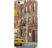 Ave B & E 7th St In New York City US  iPhone Case/Skin