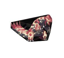PolygonArt: Primal Groudon (Pokemon Omega Ruby) Photographic Print