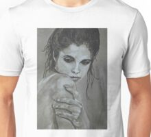 Sultry - female portrait Unisex T-Shirt