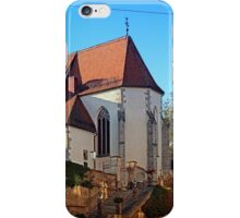 The village church of Rainbach I | architectural photography iPhone Case/Skin