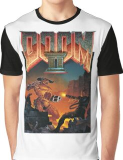 Doom II Hell On Earth PC 1994 FPS  Graphic T-Shirt