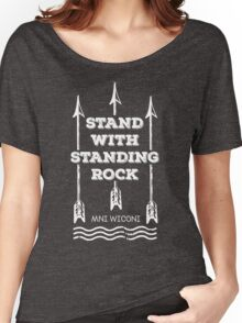 I Stand With Standing Rock Women's Relaxed Fit T-Shirt
