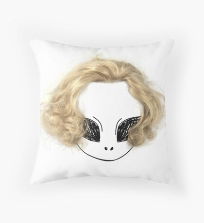 Blondes have more fun! Throw Pillow