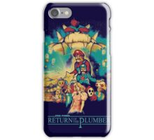 Return of the Plumber iPhone Case/Skin