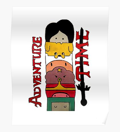 Adventure Time! Poster