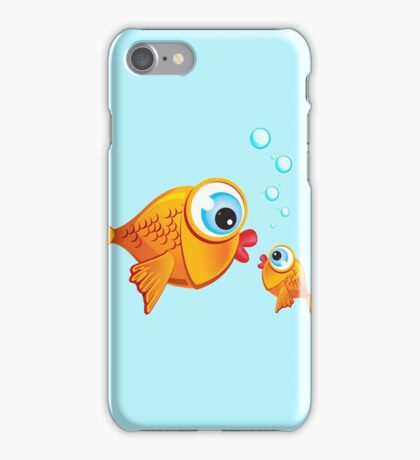 Critterz - Fish :: Olive & Pickles iPhone Case/Skin