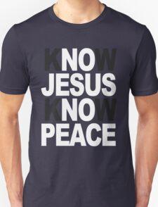 Know Jesus Know Peace Unisex T-Shirt