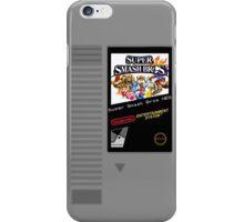 Nes Cartridge: Super Smash Bros iPhone Case/Skin