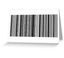 Barcode Greeting Card