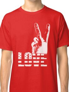 Love and Peace Classic T-Shirt