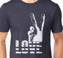 Love and Peace Unisex T-Shirt