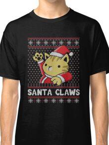 Cat Santa Claws Classic T-Shirt