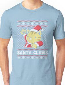 Cat Santa Claws Unisex T-Shirt
