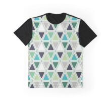 Colorful geometric pattern with triangles Graphic T-Shirt