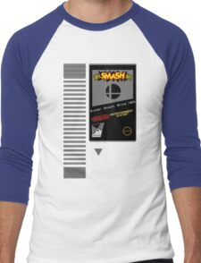 Nes Cartridge: Super Smash Bros Men's Baseball ¾ T-Shirt