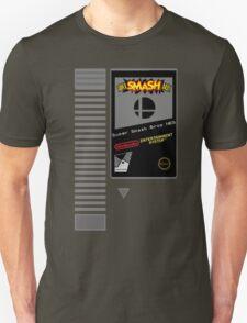 Nes Cartridge: Super Smash Bros T-Shirt