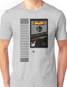 Nes Cartridge: Super Smash Bros Unisex T-Shirt