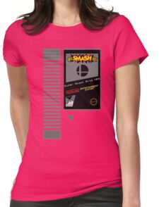 Nes Cartridge: Super Smash Bros Womens Fitted T-Shirt