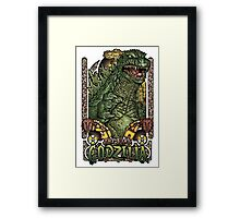 The King Triumpant Framed Print