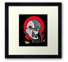 Red Sun Warrior Framed Print