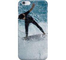 Surfer In Flight iPhone Case/Skin