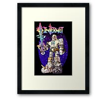Internet Cat Warrior Framed Print