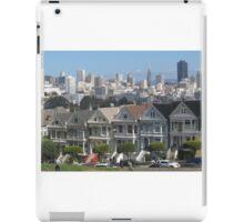 """Painted Ladies"" - San Francisco, California iPad Case/Skin"