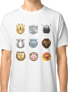 animal heads Classic T-Shirt