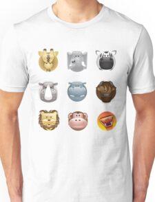 animal heads Unisex T-Shirt