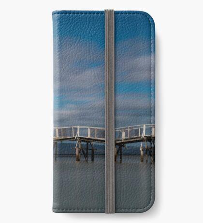 Tideways jetty colour iPhone Wallet/Case/Skin