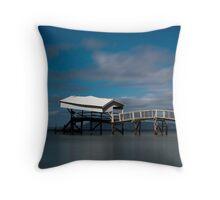 Tideways jetty colour Throw Pillow