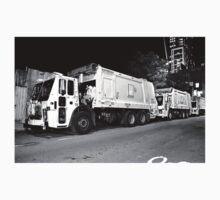 DSNY Garbage Trucks Photo #1 Kids Tee