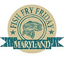 MARYLAND FISH FRY Photographic Print