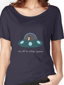 Otter Space Women's Relaxed Fit T-Shirt