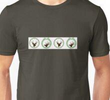 Hunting lodge deer chr Unisex T-Shirt