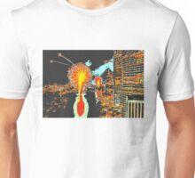 Brisbane fireworks lithograph Unisex T-Shirt