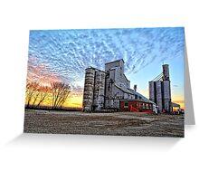 Geneva Grain 2 Greeting Card