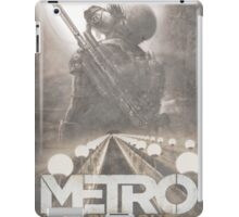 Enter The Metro - Fan Poster iPad Case/Skin